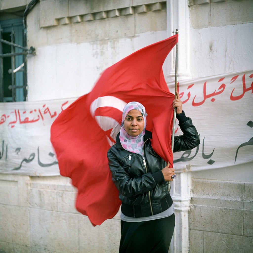 Portraits of 'maîtrisards' - college-educated Tunisians
