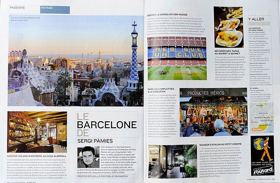 Le Monde - Barcelone