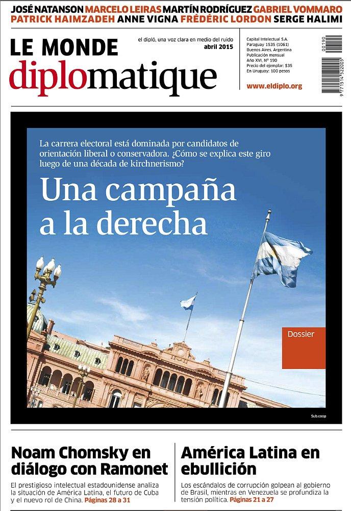 Le Monde Diplomatique  - Argentina - couverture - Buenos Aires
