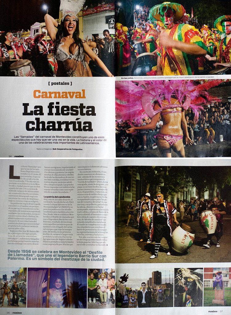 Rumbos - carnaval Uruguay
