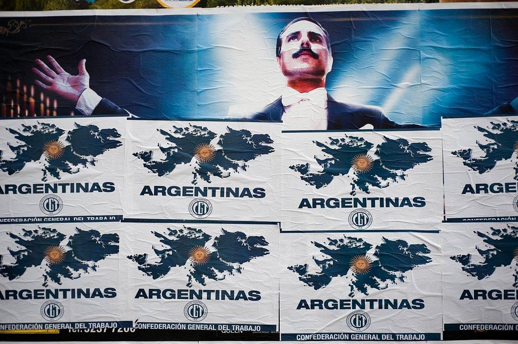 Falklands Argentine veterans