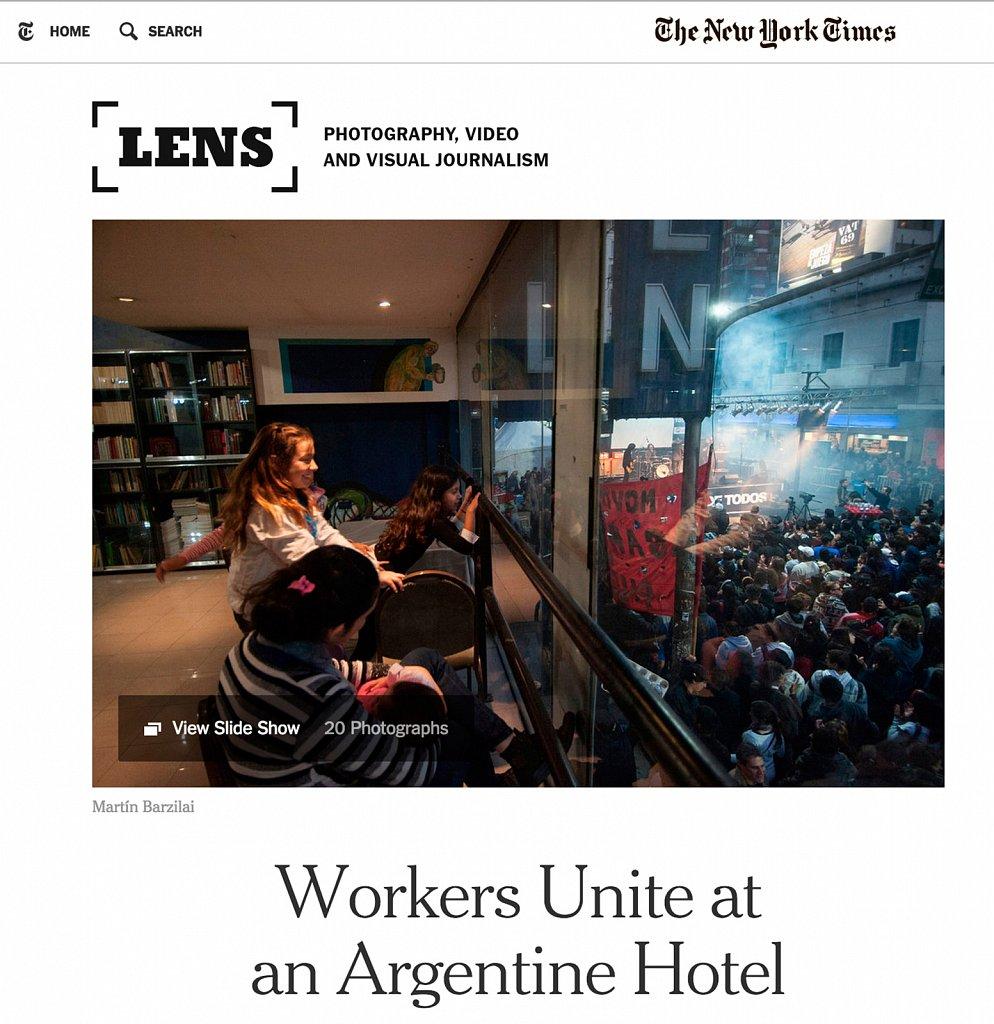 Martin Barzilai New York Times - USA - hotel Bauen