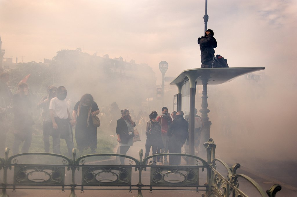 One year in Paris